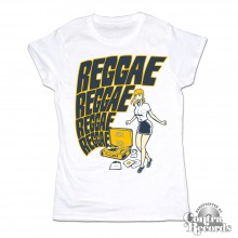 Reggae Reggae - Girl Shirt - white