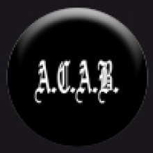 Button - A.C.A.B.(25mm)