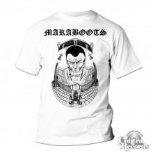 Maraboots - Skinhead - T-Shirt white
