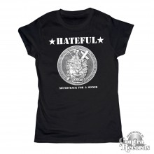Hateful - Soundtrack for a Sinner - Girl Shirt black