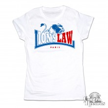 Lion's Law - LION - Girl Shirt - white
