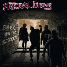 """Funeral Dress - Back on the Streets lim.100pcs.red 7""""EP"""
