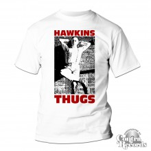 Hawkins Thugs - T-Shirt white