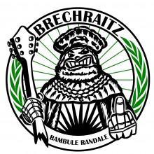 "Brechraitz  ""Bambule Randale"" - Patch"