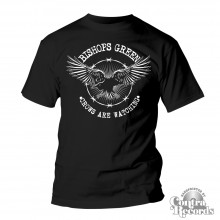 Bishops Green - T - Shirt - Crow black