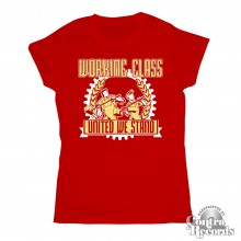 Working Class - Girl Shirt - red