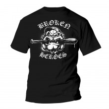 Broken Heroes - T-Shirt black (last sizes!!)