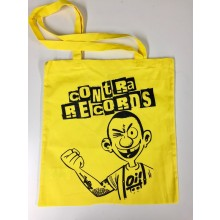 "Cotton Bag ""Contra Records Oi!"" Yellow"