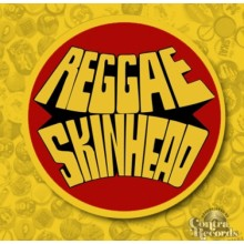 Reggae Skinheads Yellow-Button 25mm