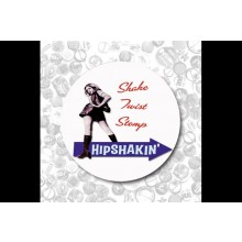 Shake,Twist,Stomp Hipshakin-Button 37mm