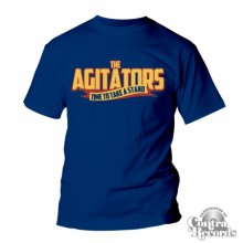 AGITATORS, THE - TIME TO TAKE A STAND - T-Shirt blue