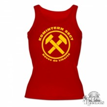 KOMINTERN SECT - RDL - Girl Tanktop red (last sizes!!)