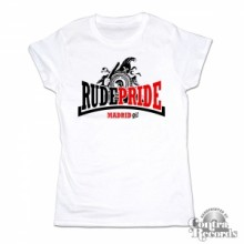 Rude Pride - Trojan - Girl Shirt - White