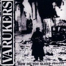 "Varukers - How Do You Sleep ??????? 12""LP"