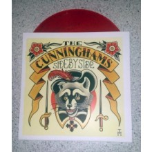 """Cunninghams, the - Side by Side 7""""EP (lim.96, red Vinyl)"""