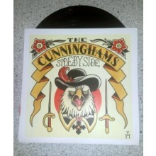 "Cunninghams, the - Side by Side 7""EP (lim.140, black Vinyl)"