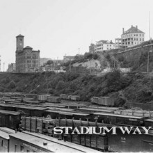 """STADIUM WAY- st- 7""""EP lim.500 Silver incl. Download"""