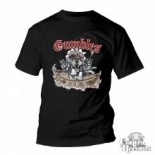 GUMBLES-Schlittenhunde & Kojoten - T-Shirt Men Black