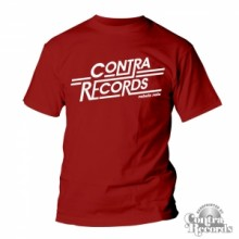 Contra Records - Rebels rule -T-Shirt Men Oxblood