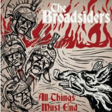 "BROADSIDERS,THE-ALL THINGS MUST END 12""GF-LP lim.102 Red/Gold"