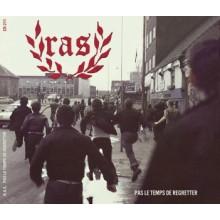 R.A.S. - Pas le Temps de Regretter Digipack-CD + Bonussongs