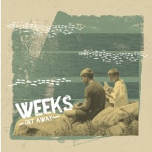 "Weeks - Get Away 7""EP lim.300 solid Black"