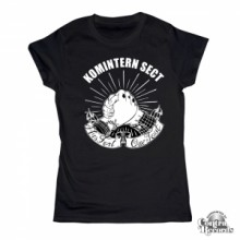 "Komintern Sect - ""Plus fort que tout "" -Girl Shirt Black"