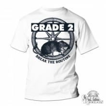 Grade 2 - Break The Routine T-Shirt White