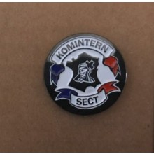 Metall-Pin - Komintern Sect - classic logo