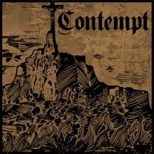 """CONTEMPT - s/t - 12""""LP lim.374 black"""