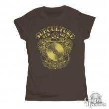 "Subculture for Life - ""Anchor"" - Girl Shirt chestnut"