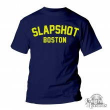 "Slapshot ""Boston"" T-Shirt navy blue"