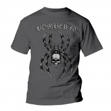 "Bomber 80 ""spider"" T-Shirt dark grey"