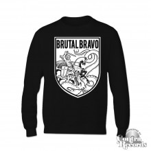 Brutal Bravo - Sweater Black