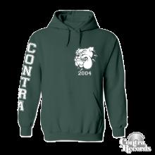 Contra - Streetwear Bulldog - Hoody lim. edt dark green