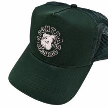 "Contra Records ""Bulldog"" - Trucker Cap dark green"