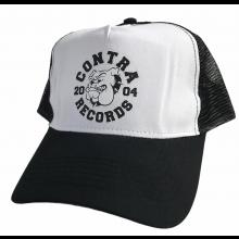 """Contra Records """"Bulldog"""" - Trucker Cap black/white"""