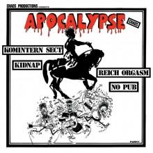 """V/A """"APOCALYPSE CHAOS'' - 12""""LP"""