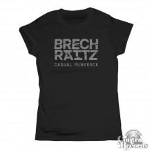 "Brechraitz - ""Casual Punkrock"" Girl Shirt black"
