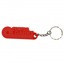 CONTRA CLASSICS - Keychain clear/red