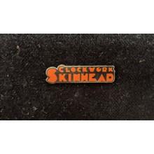 Metall-Pin - Clockwork Skinhead