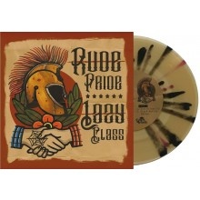 "V/A Rude Pride / Lazy Class - split 7""EP lim.300 clear/brown/black splatter"