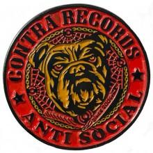 "Contra Records ""Antisocial Bulldog"" - Metal-Pin"