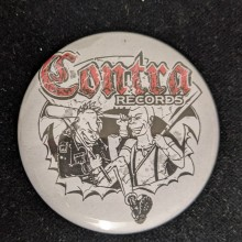 Contra Records - Punk & Skin - Big Button 56mm