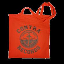 "Cotton Bag - ""anchor punkrock "" red/black print"