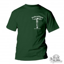 """Subculture for Life """"Worldwide-Crew """" Crucified T-Shirt green lim.10 pcs pocket print edt."""