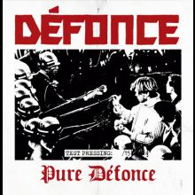 "Defonce - ""pure defonce"" 12""LP lim. 15 Testpress"