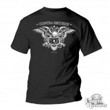 "Contra Records - ""Eagle"" T-Shirt black"