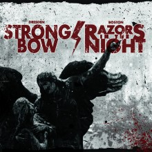 "V/A Strongbow/Razors in the Night - Split 7""EP lim. Splatter"