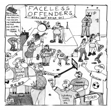 "Faceless Offenders - s/t 7""EP lim.200 Black"